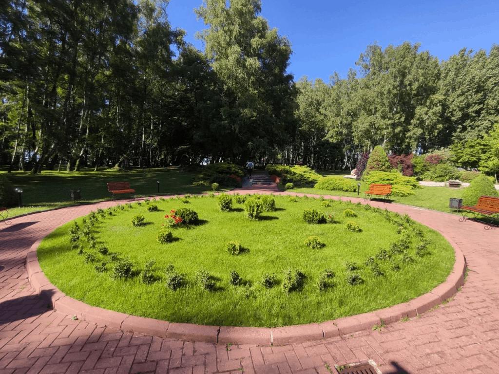 Отель Русь Светлогорск. Территория