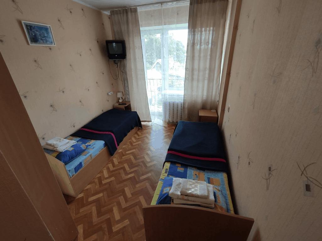 Гостиница Топаз Зеленоградск. Двухместный номер