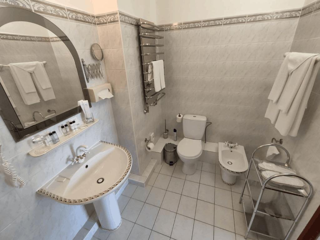 Отель Русь Светлогорск. Номер Премиум. Ванная комната