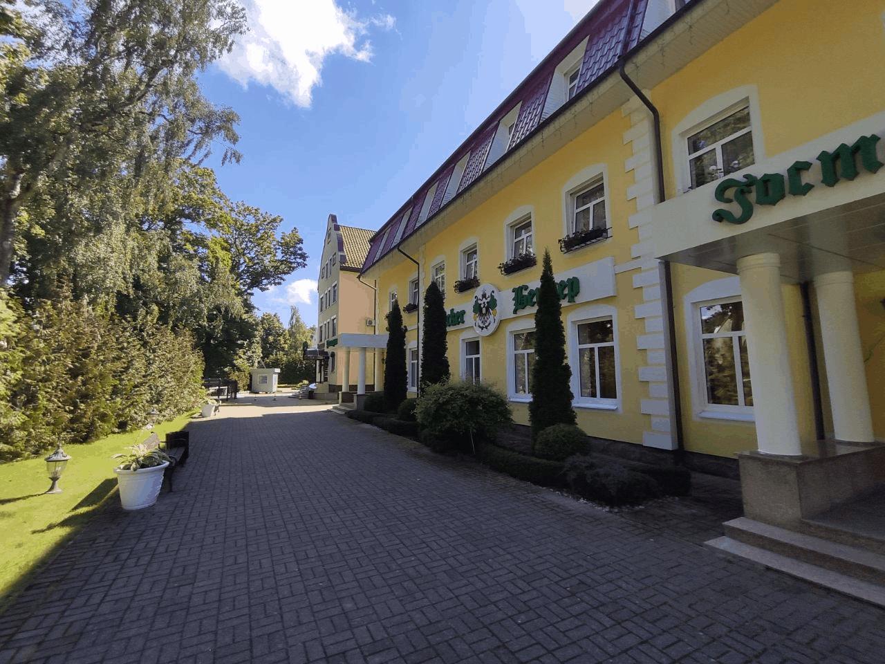 Отзыв о гостинице Беккер Янтарный