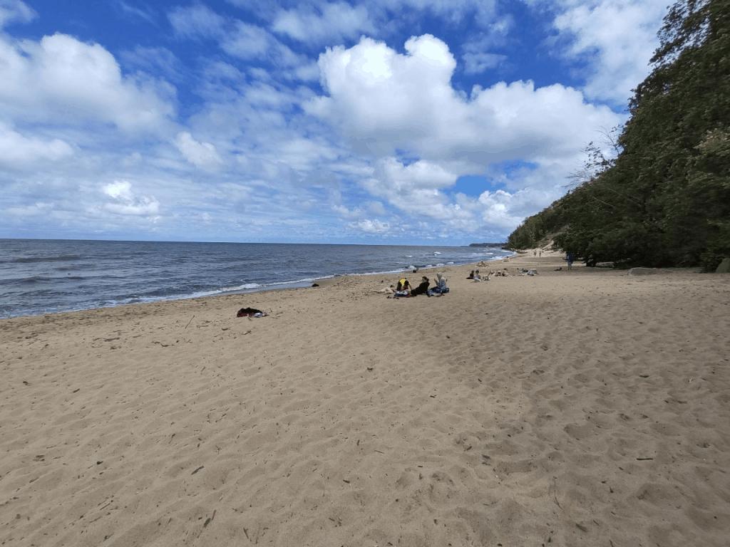 Гостиница Фрам Светлогорск. Ближайший пляж