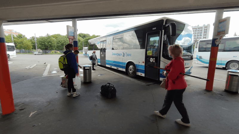 Автобусы Калининград – Зеленоградск