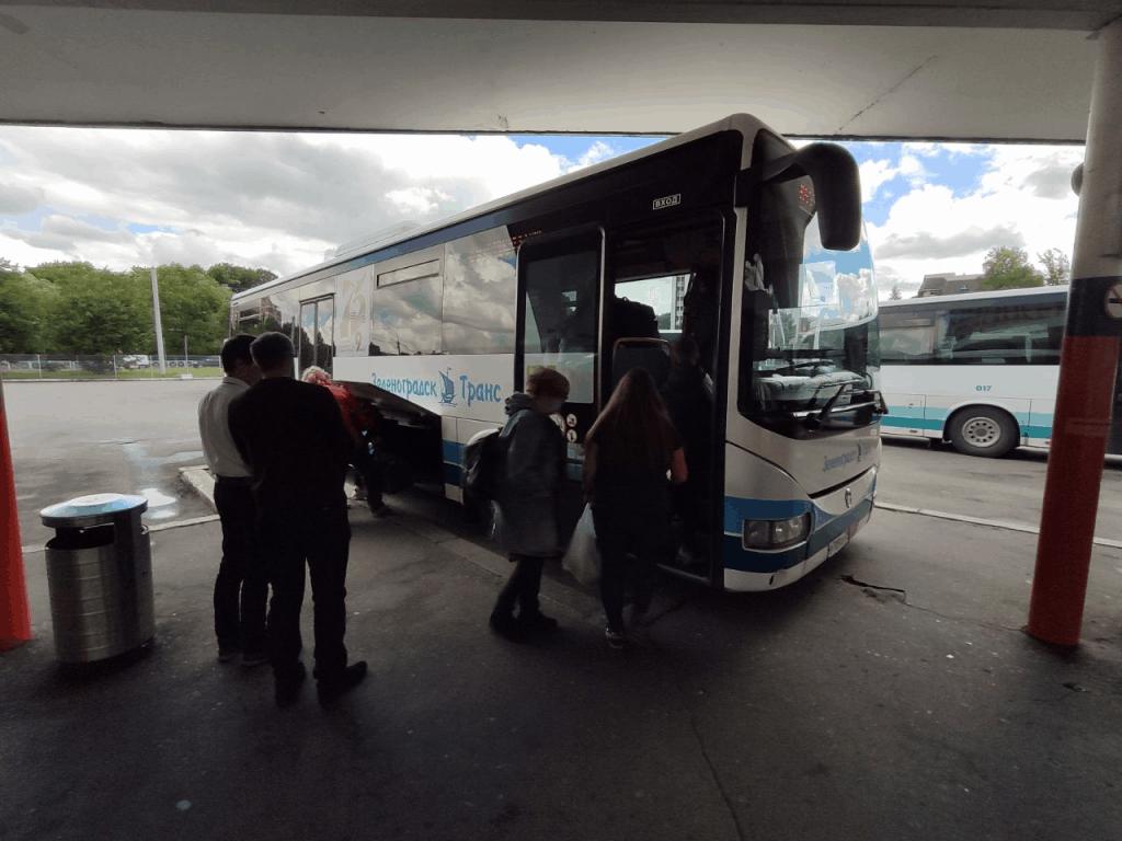 Автобус из Калининграда на Куршскую косу