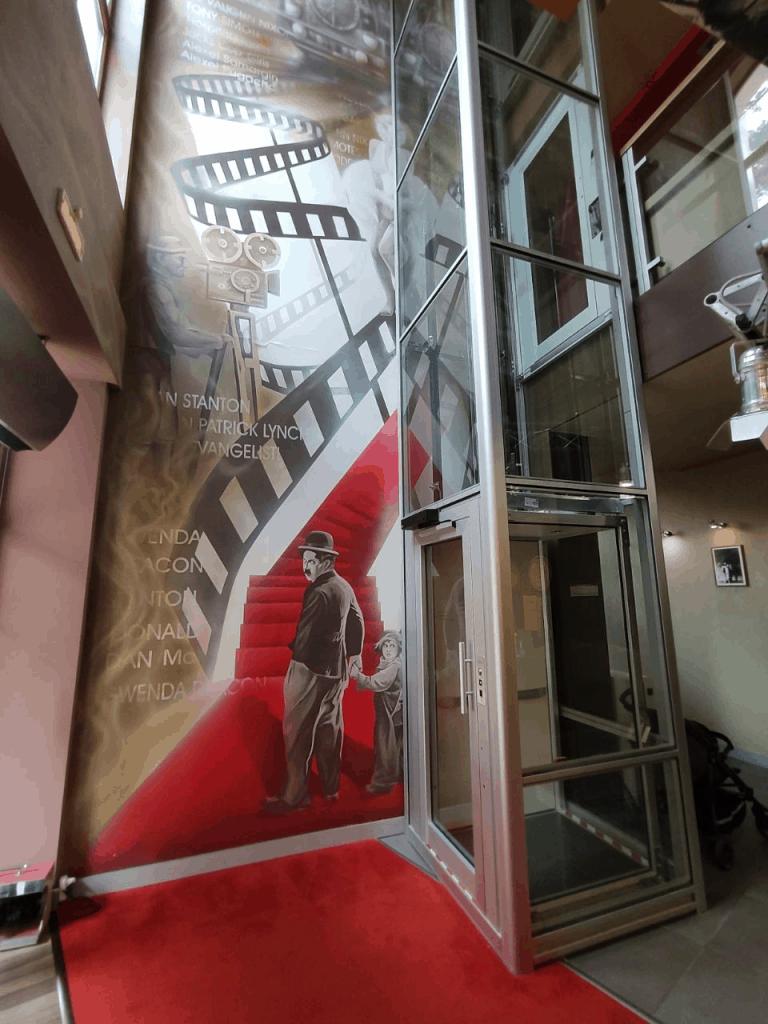 Отель Люмьер Светлогорск. Лифт