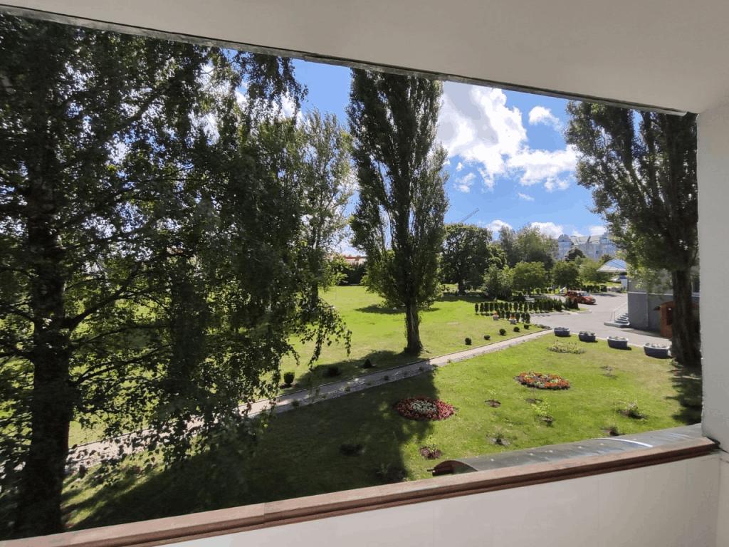 Вид из окна отеля Волна Светлогорск