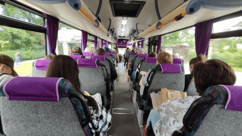Автобус Калининград – Янтарный