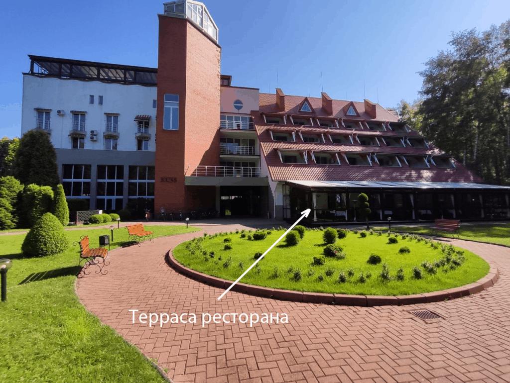 Отель Русь Светлогорск. Терраса