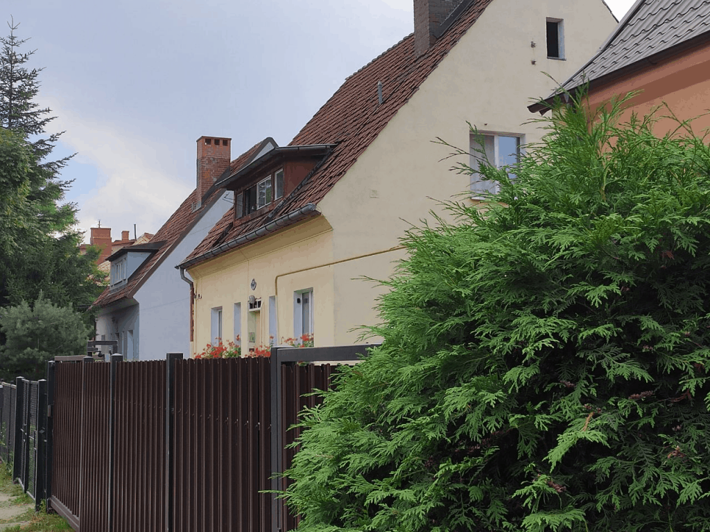 Немецкие виллы на улице Коммунальная