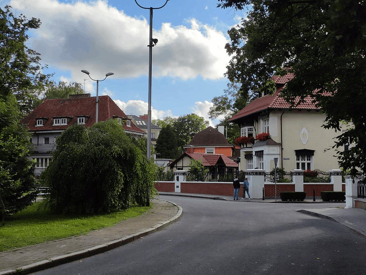 Районы Амалиенау и Хуфен. Гуляем по старому Кенигсберу