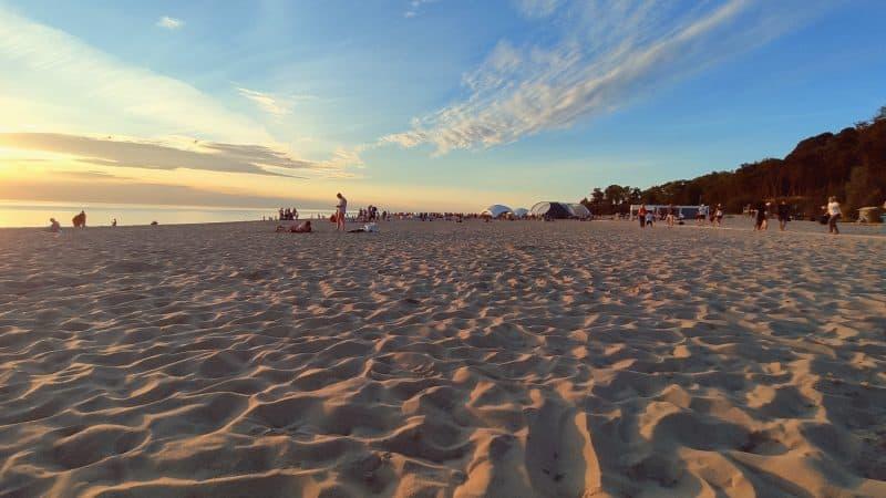 Пляж в Янтарном – лучший пляж Калининградской области