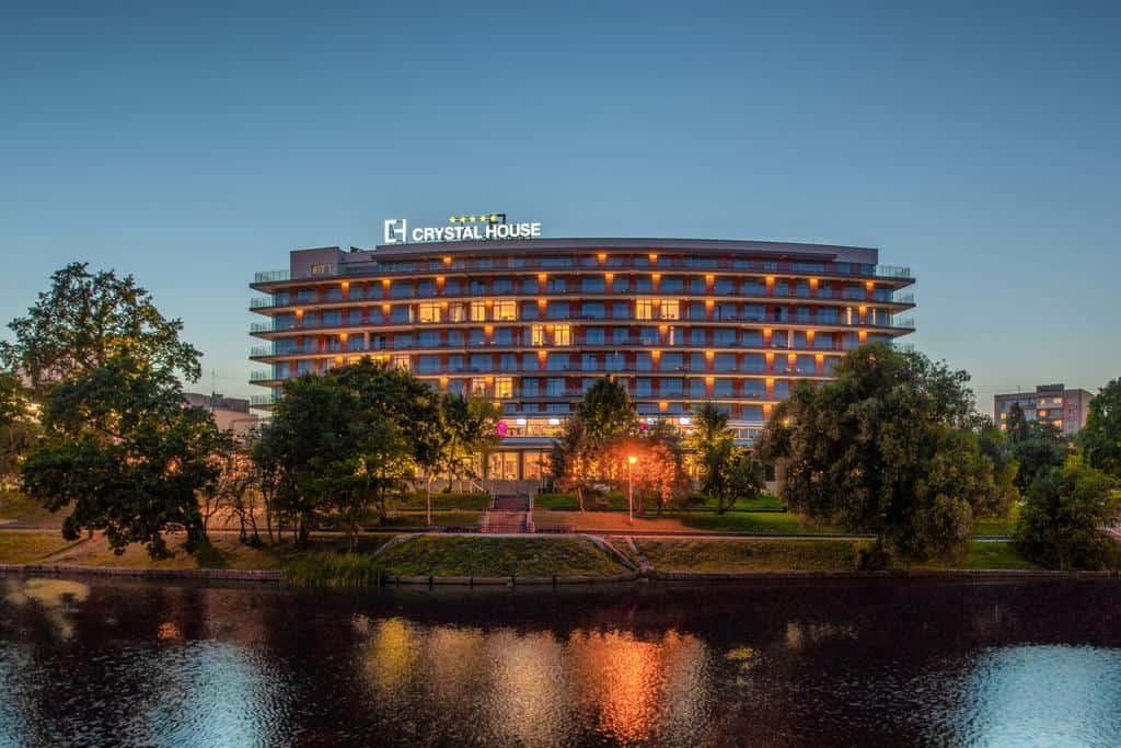 Лучшие отели Калининграда с бассейном - Crystal House Suite Hotel & SPA