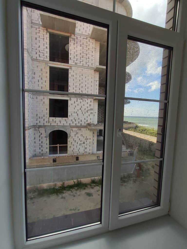 """Отель """"Золотая миля"""" Зеленоградск. Вид из Окна"""