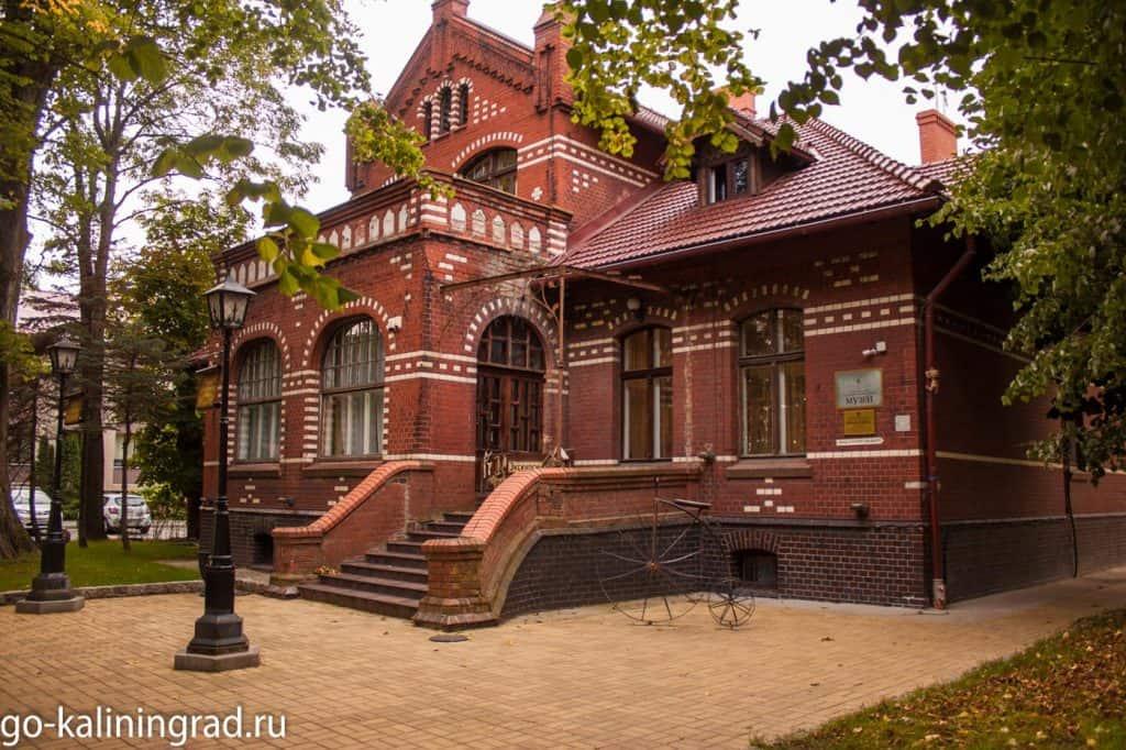 Достопримечательности Зеленоградска - Вилла Крель