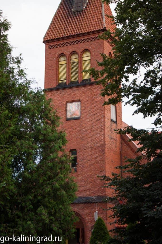 Достопримечательности Зеленоградска - Кирха Святого Адальберта