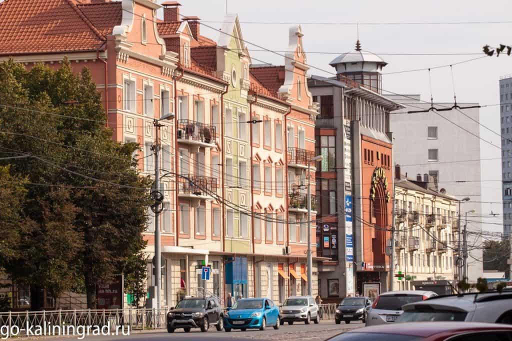 Куда сходить в Калининграде - Ленинский проспект