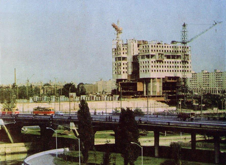Строительство Дома Советов