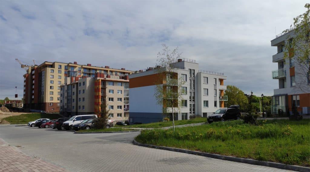 Светлогорск-3 - один из районов, где можно остановиться в Светлогорске