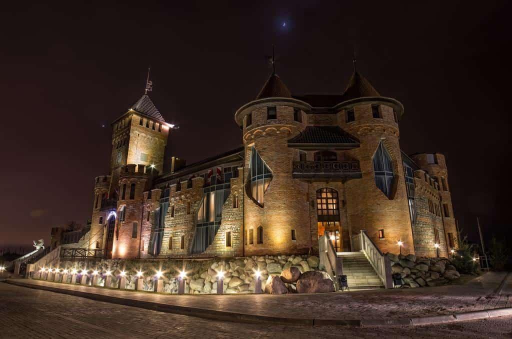 Необычные отели в Калининграде. Замок Нессельбек