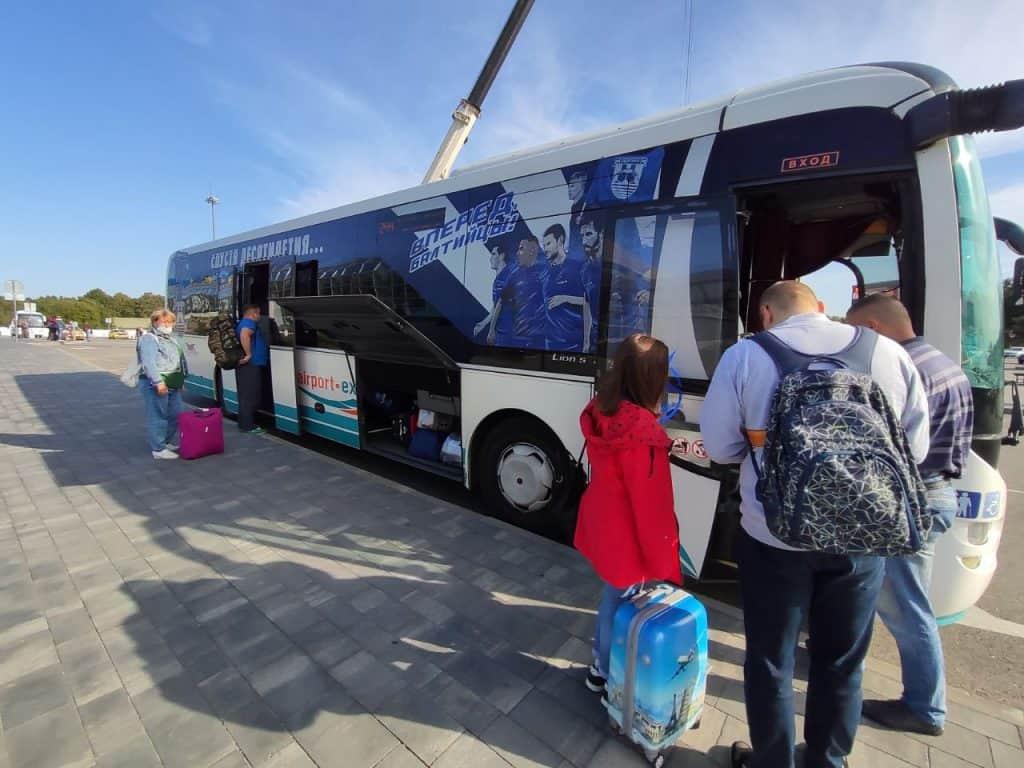 Как добраться из аэропорта до Зеленоградска, Светлогорска, Янтарного автобусом