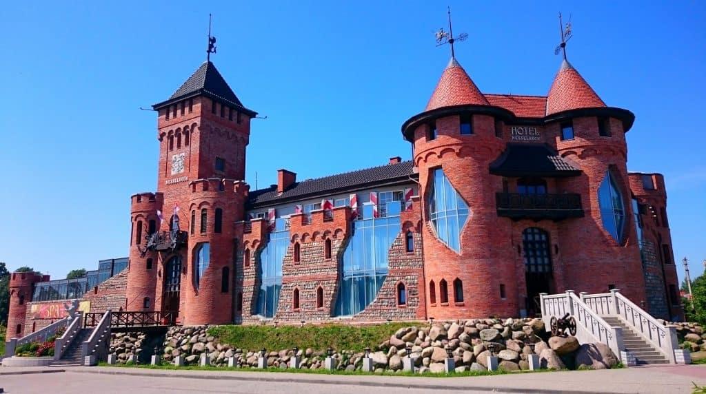 В Калининград на выходные - ночуем в рыцарском замке