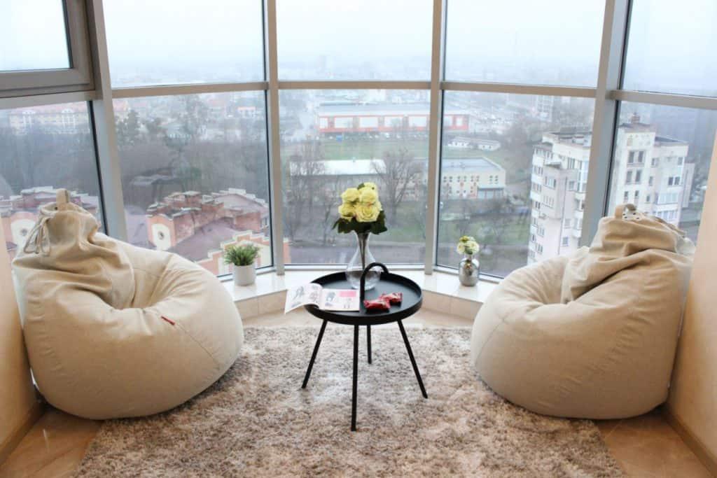 Необычные отели в Калининграде. Апартаменты на 15 этаже