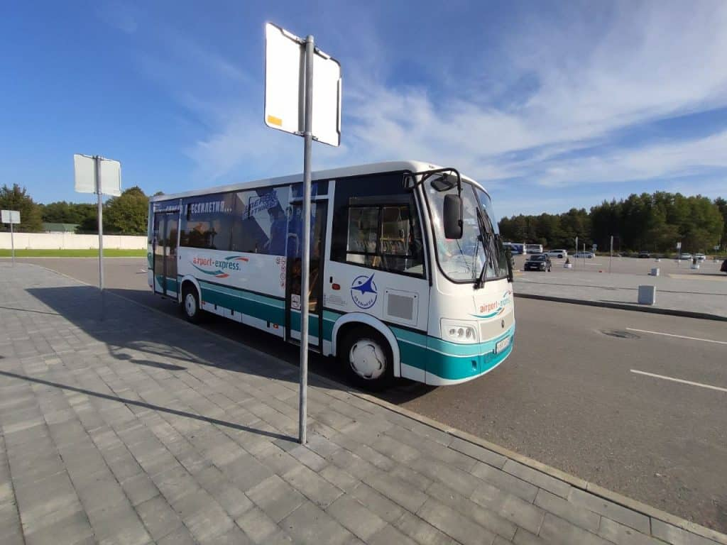 Автобус 244э аэропорт Храброво - Калининград