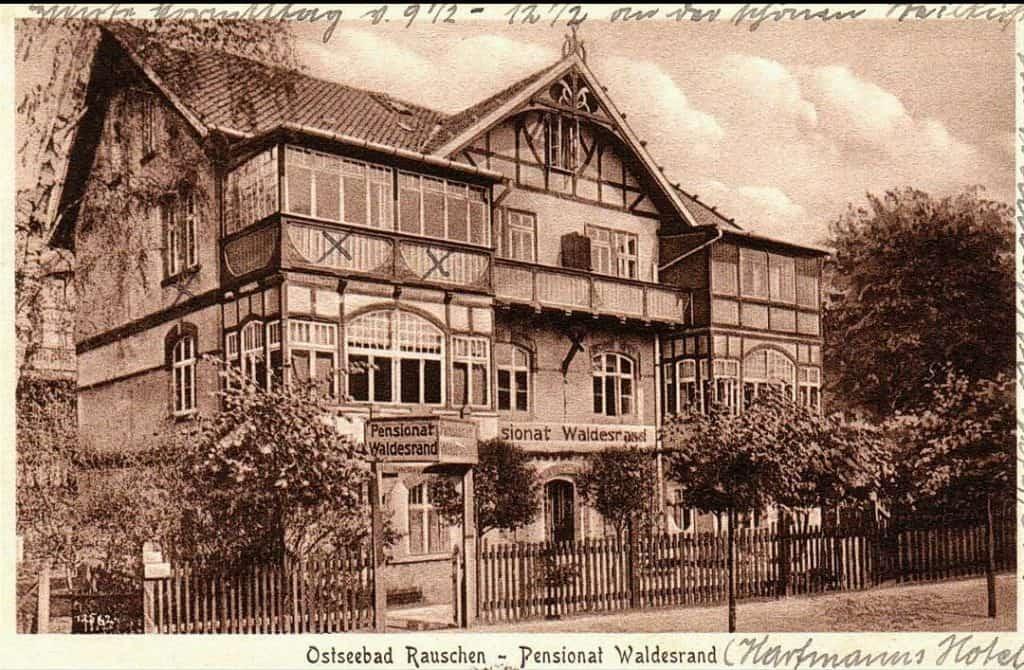 Отель «Waldesrand» в Раушене