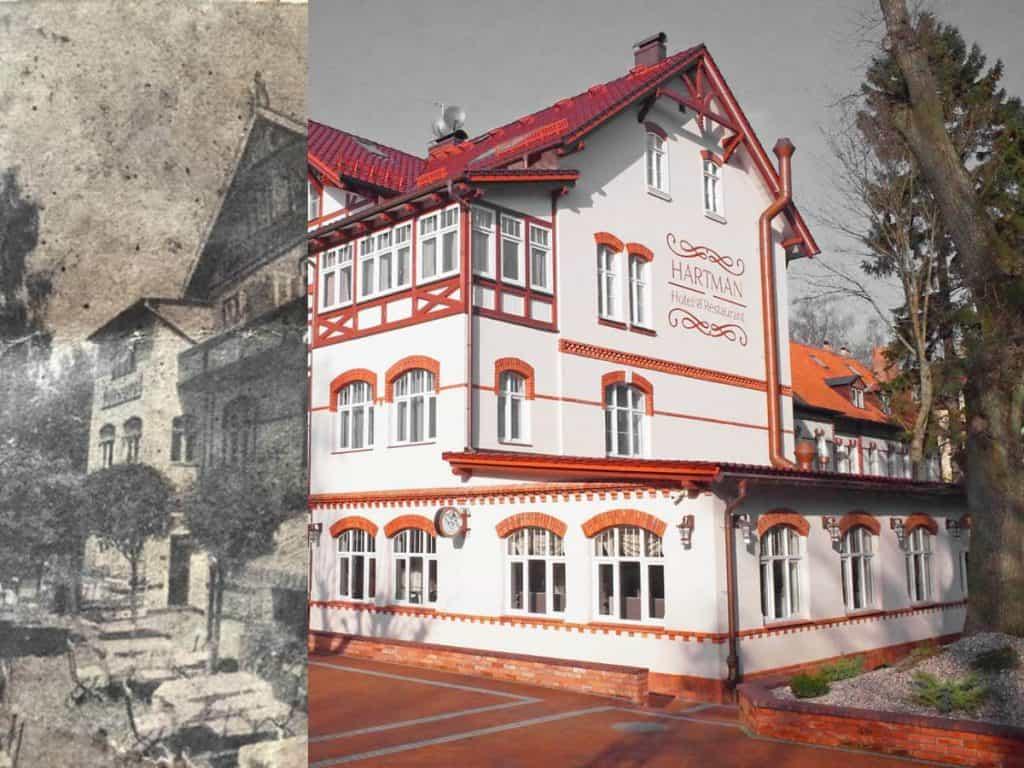 Отель Хартман в историческом здании Светлогорска