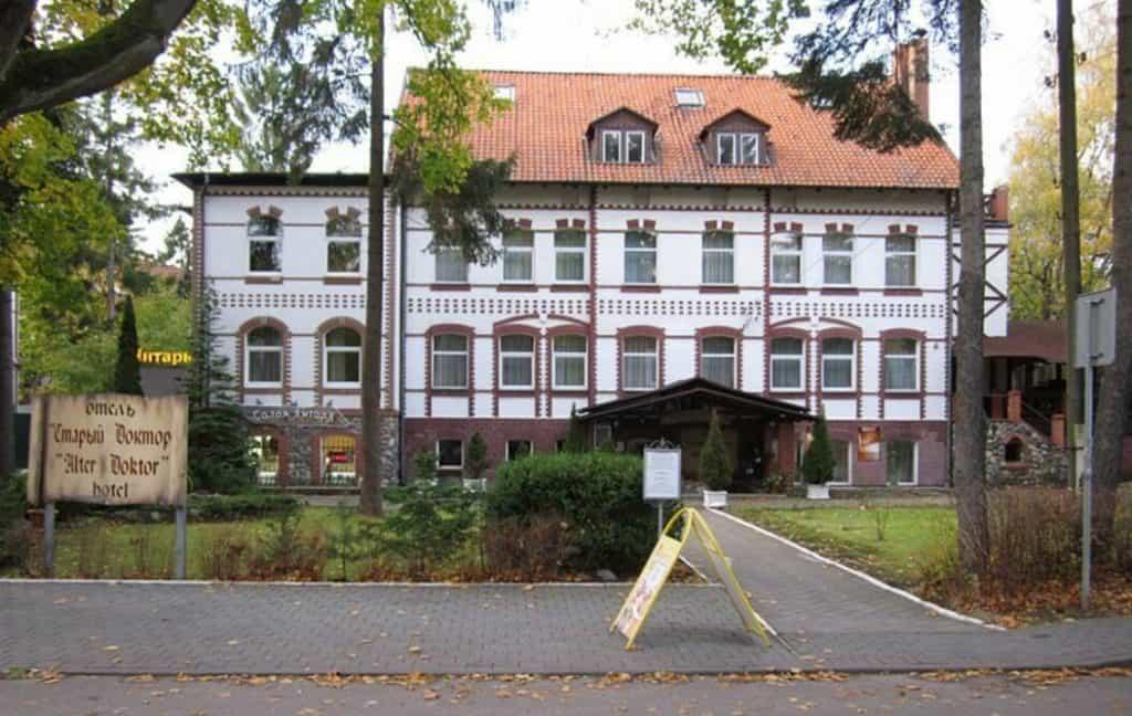 Отель Старый Доктор в историческом здании Светлогорска