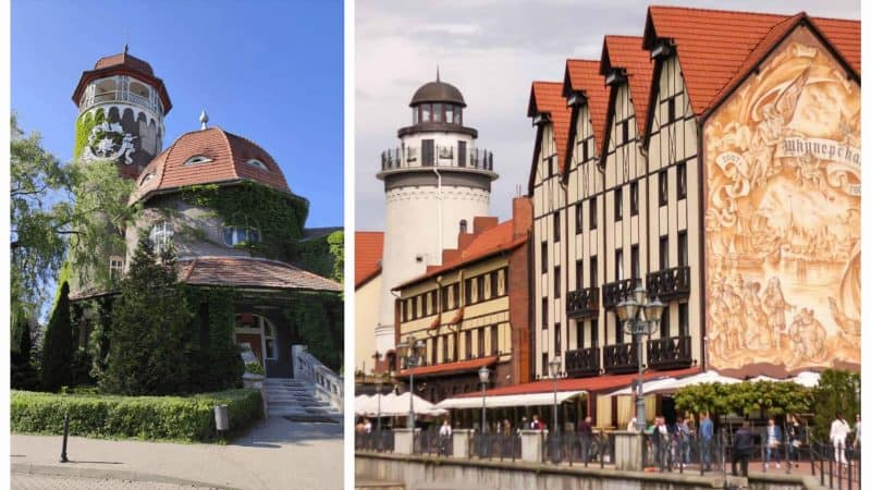 Где лучше остановиться – в Калининграде или Светлогорске?