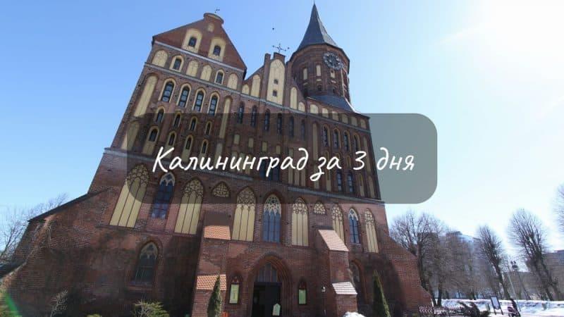 Что посмотреть в Калининграде за 3 дня?