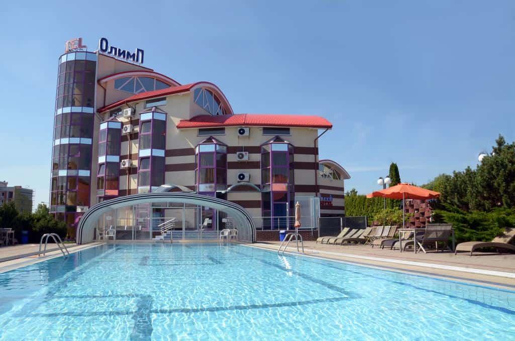 Лучшие отели с бассейном на побережье - Олимп, Светлогорск