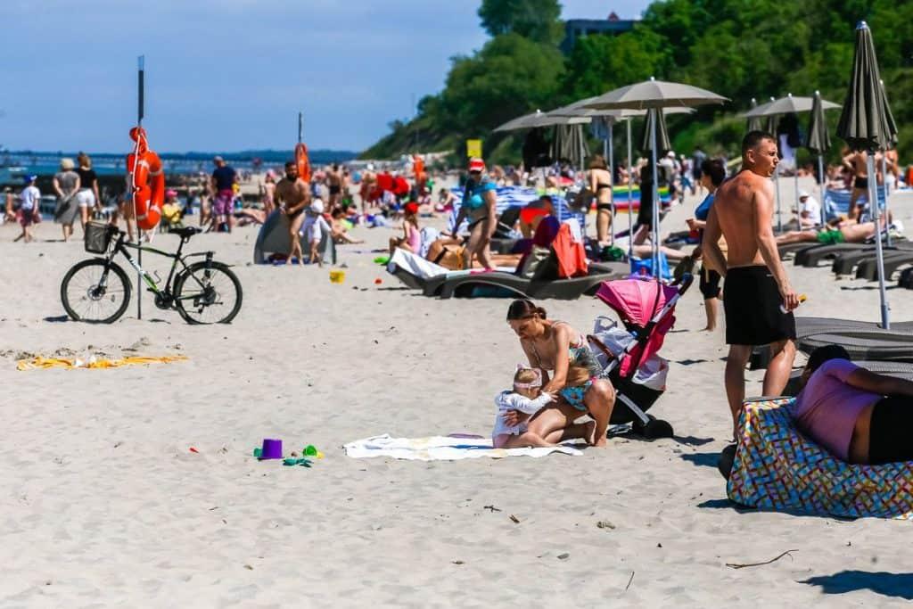 Пляжи Зеленоградска и Светлогорска - гле лучше?