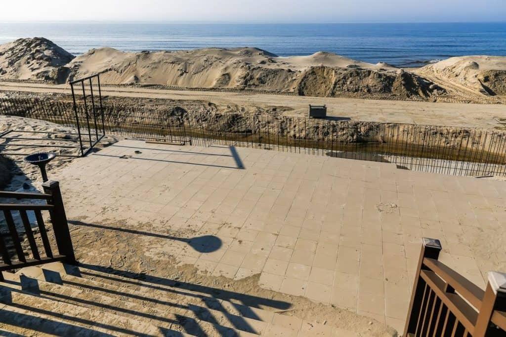 Реконструкция восточного пляжа Зеленоградска