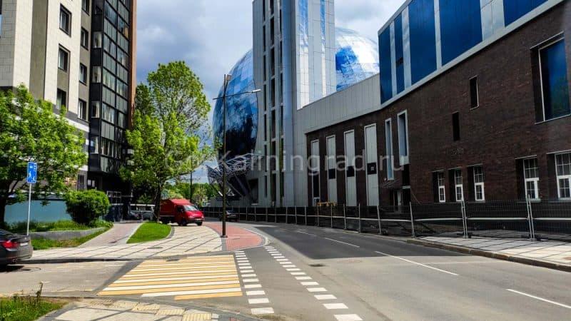 Веломаршрут по центру Калининграда