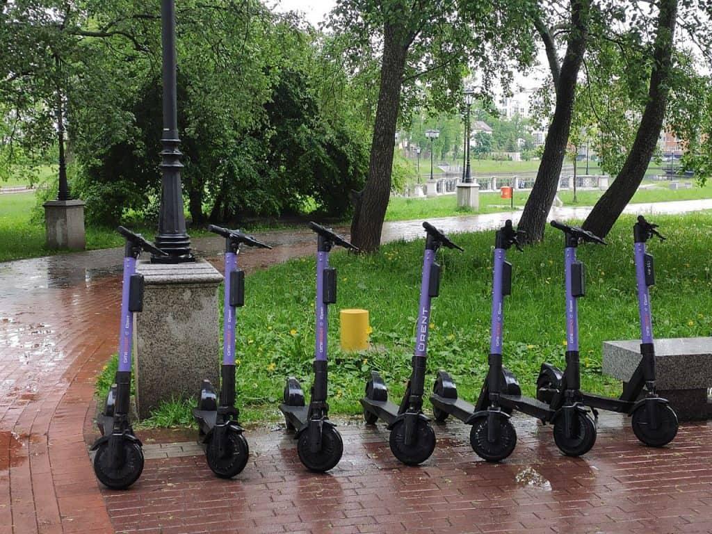 Прокат самокатов в Калининграде