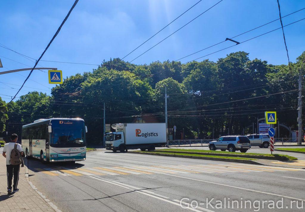 Автобус №107 до Балтийская
