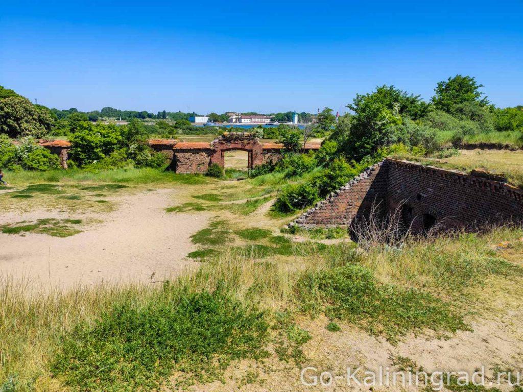 Западный форт. Балтийская коса