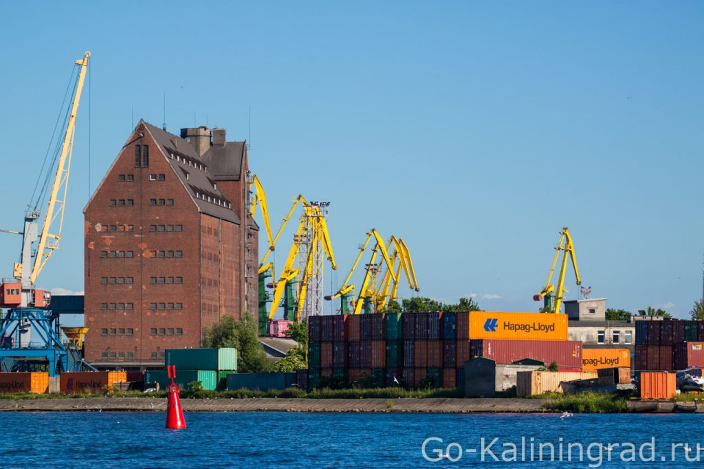 Здание портового склада