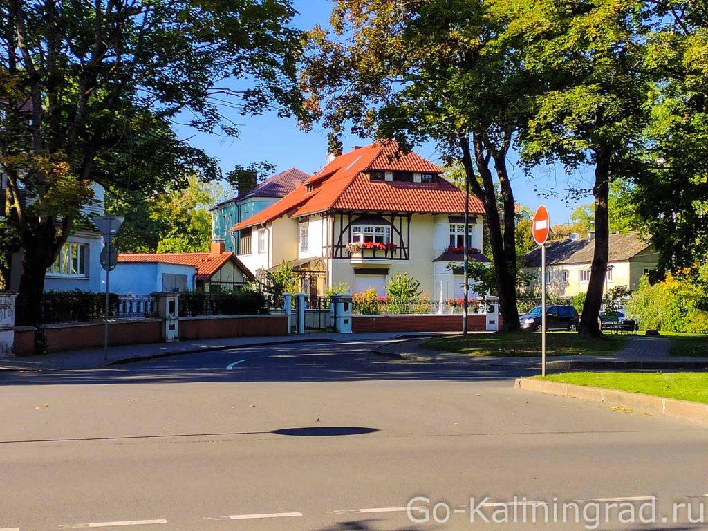 Сквер Российско-Белорусской дружбы, ранее площадь королевы Луизы