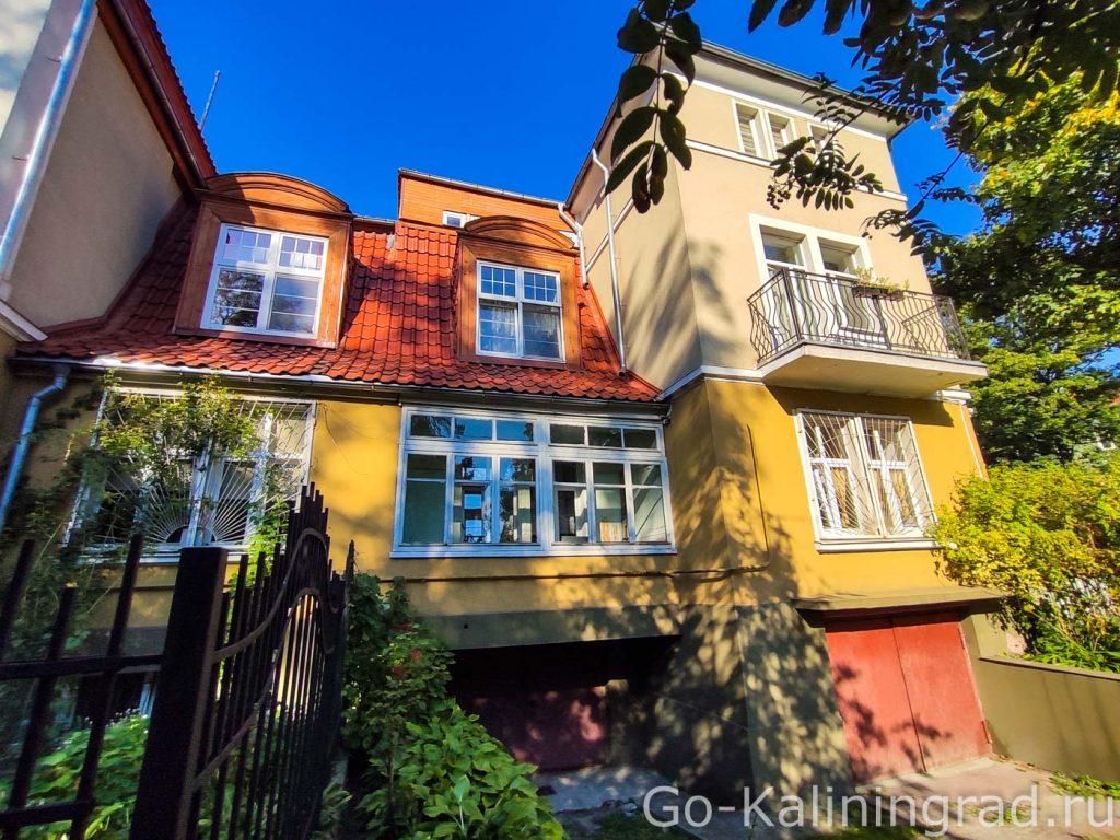 Доппельвилла на ул. Бородинская