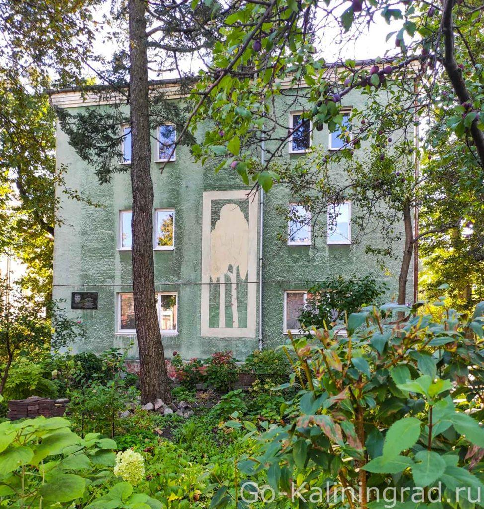 Дом с березой, ул Бородинская