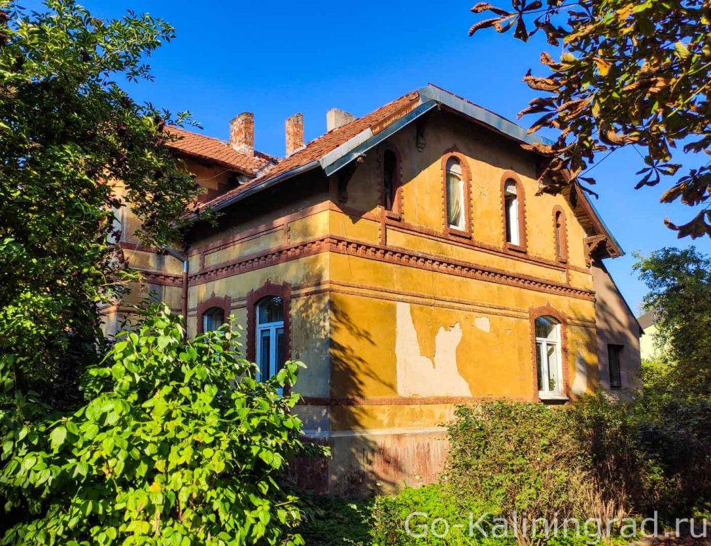 Служебное здание консульства Литвы