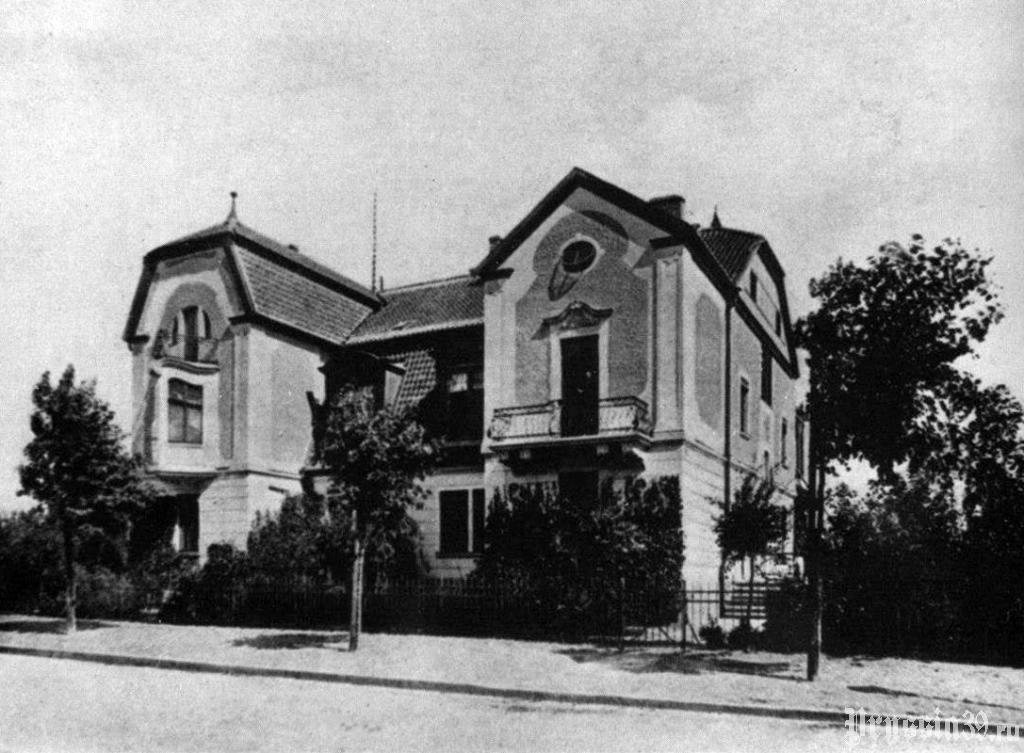 Доппельвилла на ул. Бородинская до войны