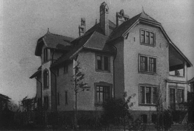 Вилла Штински, Амалиенау, до войны